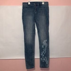 New York & Company Jeans - Soho Jeans with White flower design